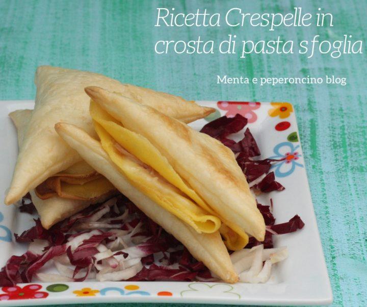 Ricetta Crespelle in crosta di pasta sfoglia