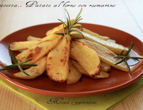 Ricetta Patate al forno con rosmarino