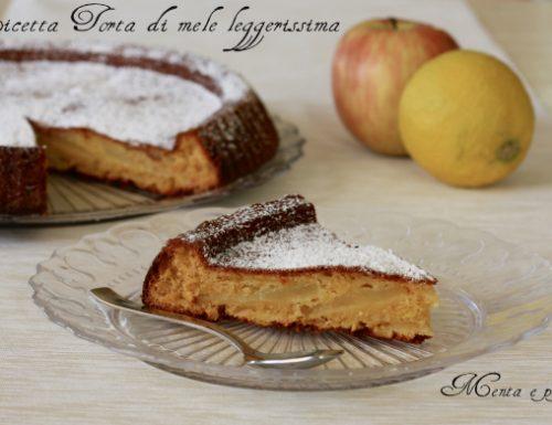 Ricetta Torta di mele leggerissima
