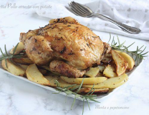 Ricetta Pollo arrosto con patate