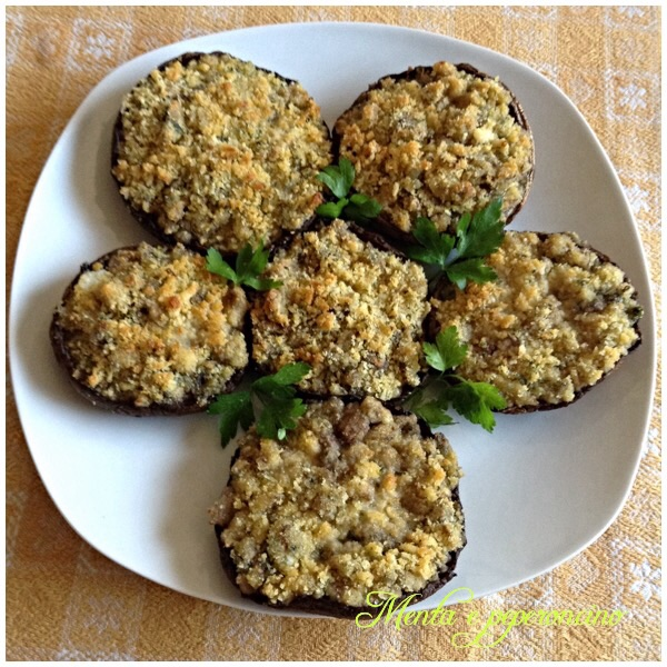 Ricetta Funghi Portobello ripieni
