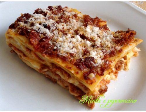 Ricetta le mie Lasagne