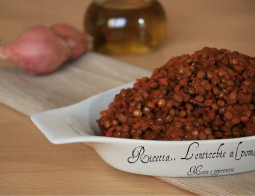 Ricetta Lenticchie al pomodoro