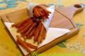 Ricetta bastoncini di carote con impanatura croccante