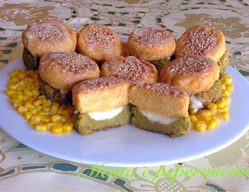 Ricetta Hamburger di verdure con formaggio
