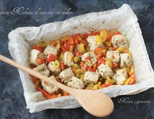Ricetta Merluzzo al cartoccio con verdure