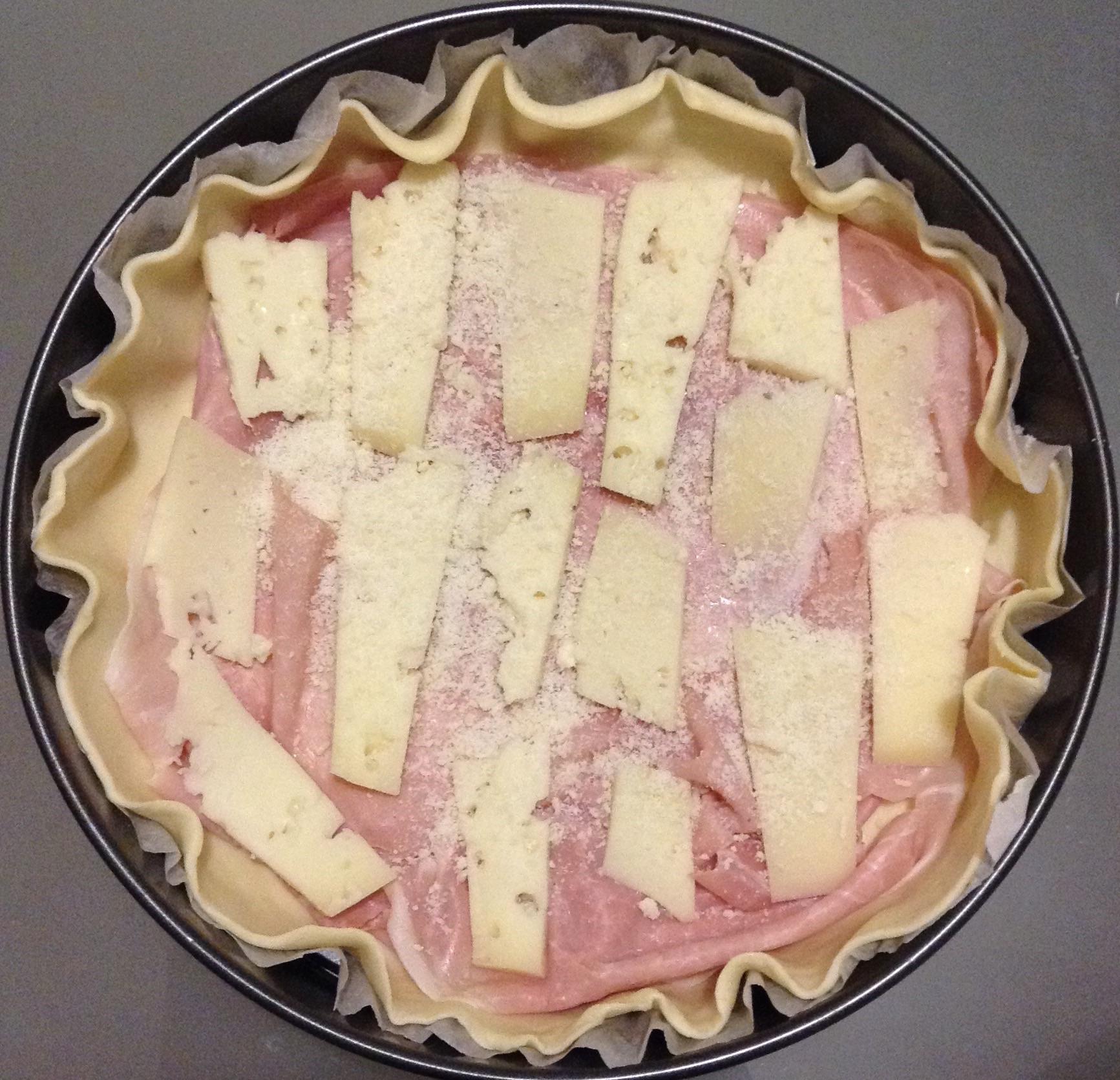 Favoloso Ricetta Torta rustica con prosciutto cotto e formaggio (Torta salata) VQ23