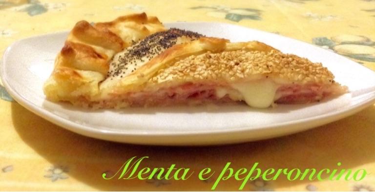 Ricetta Torta salata con prosciutto cotto e formaggio