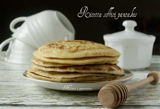 Ricetta soffici Pancakes