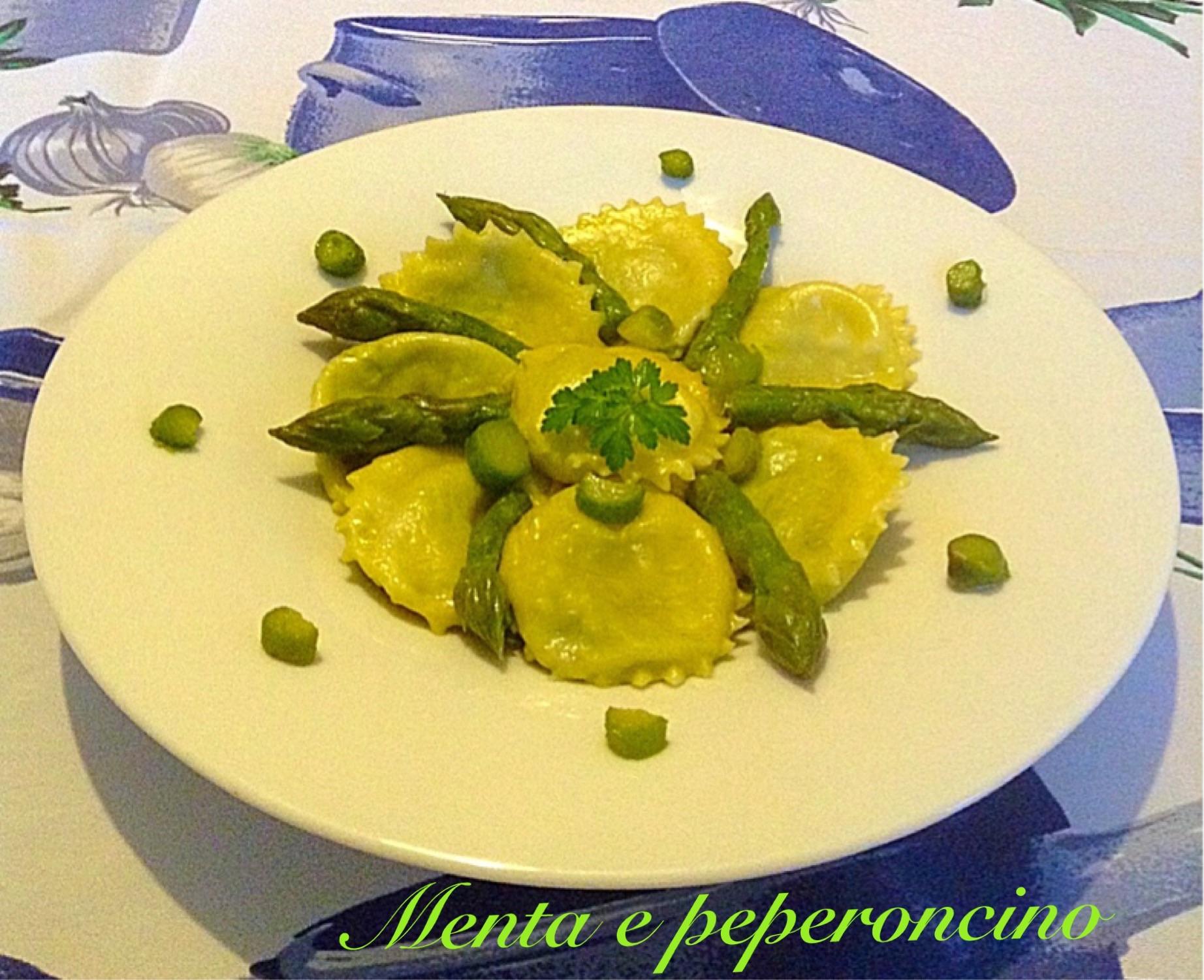 Ricetta Ravioli con asparagi e taleggio