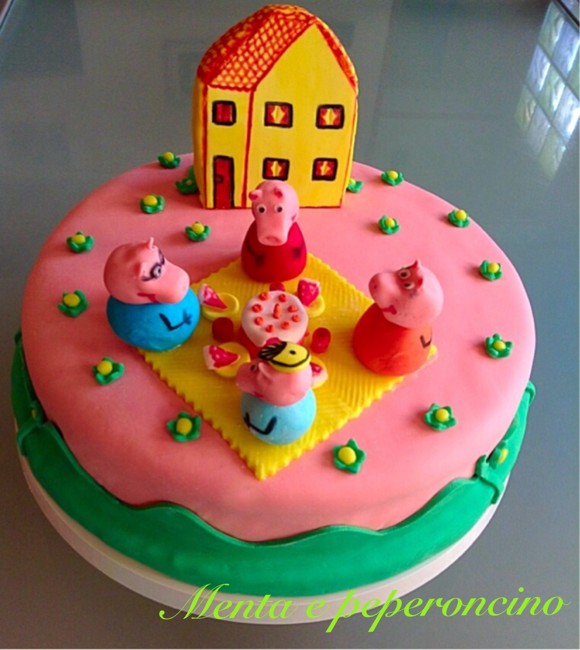 Torta Peppa Pig Torte Di Compleanno Dolci Decorati Torte