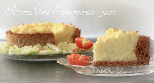 Ricetta Torta di carne macinata e patate