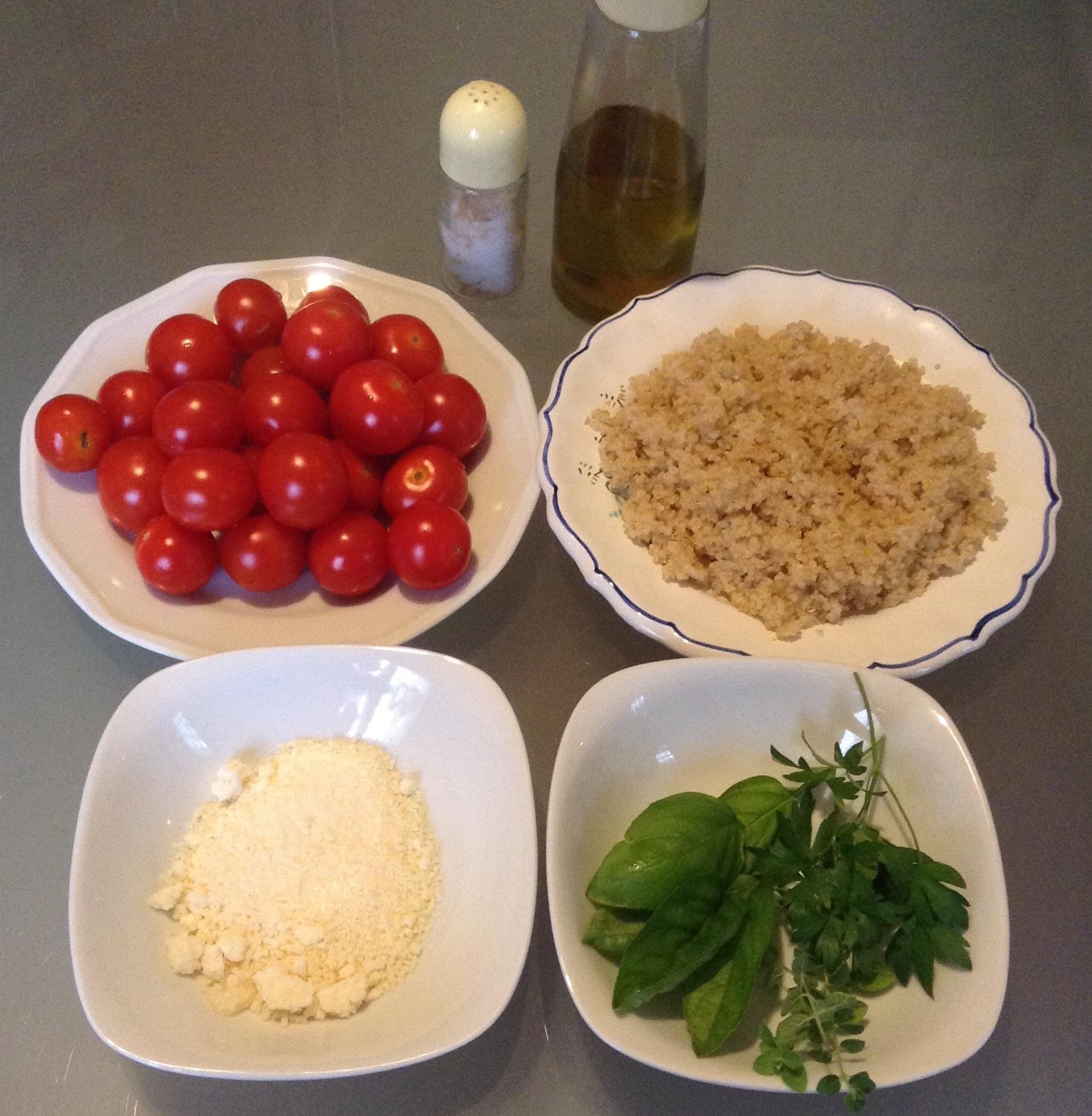 Ricetta pomodorini ripieni di quinoa contorni - Apericena cosa cucinare ...