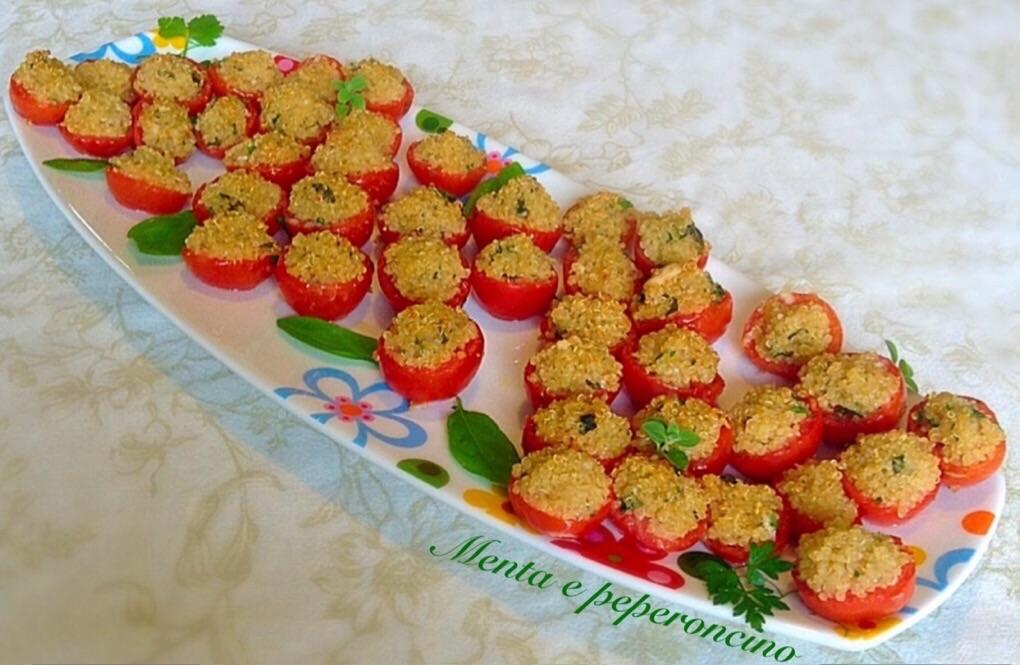 Ricetta Pomodorini ripieni di quinoa