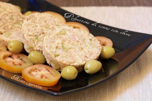 Polpettone di tonno con olive