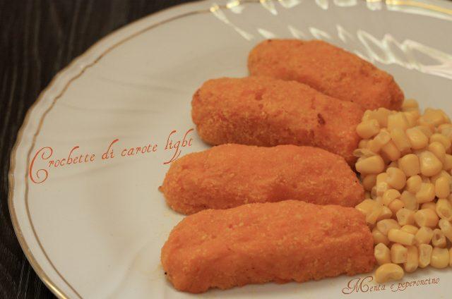 Crocchette di carote light