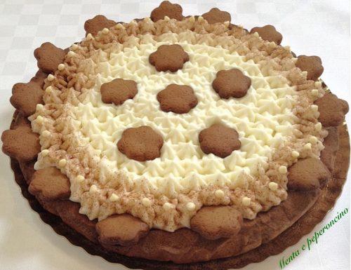 Crostata nesquike con crema al latte