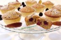 Muffin allo yogurt con more e prugne