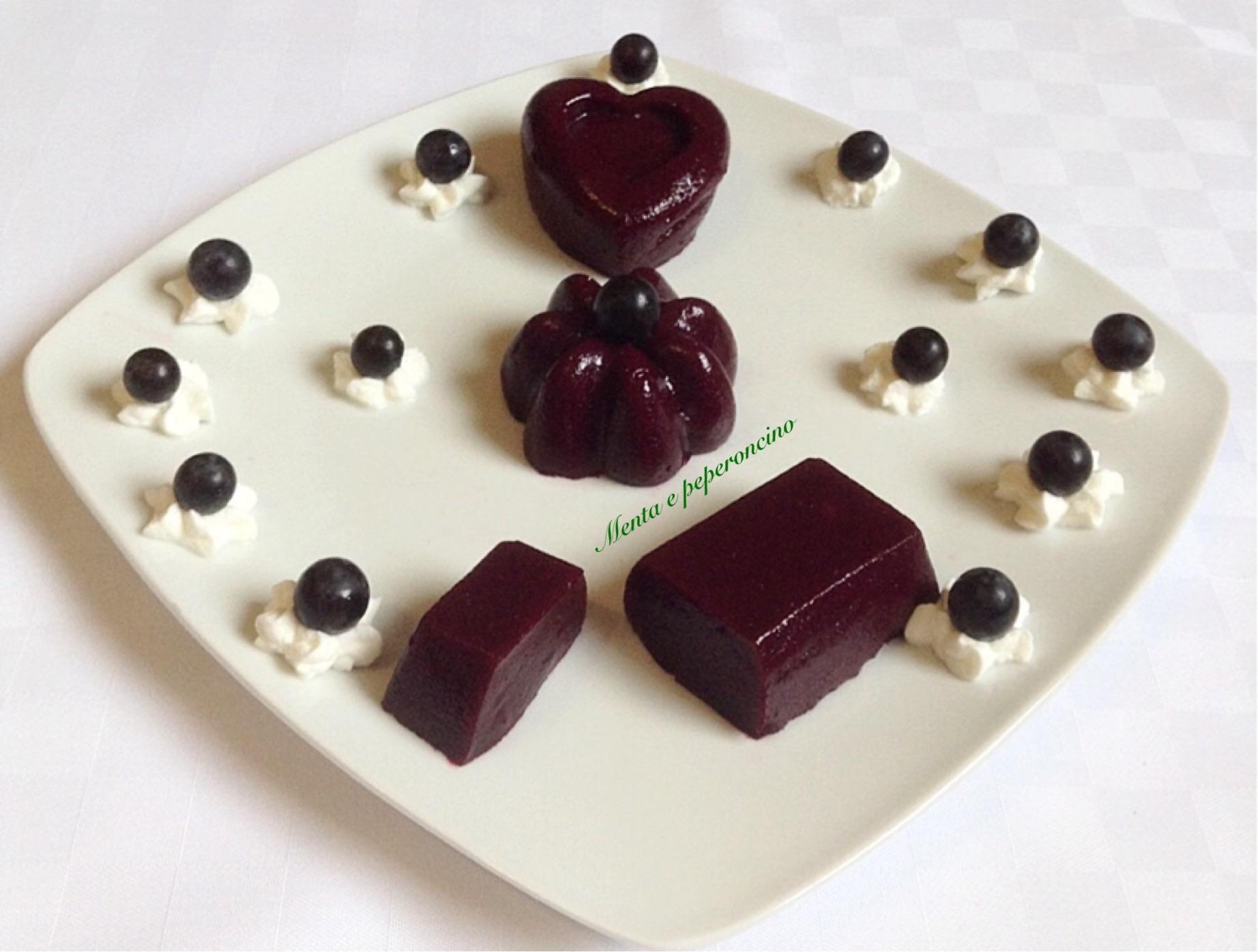 Sugli con uva fragola