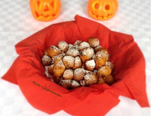 Frittelle di zucca con gocce al cioccolato