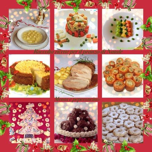 Raccolta ricette per il pranzo di Natale