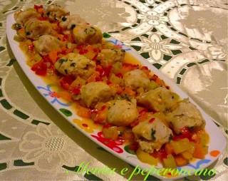 Ricetta Merluzzo con verdure