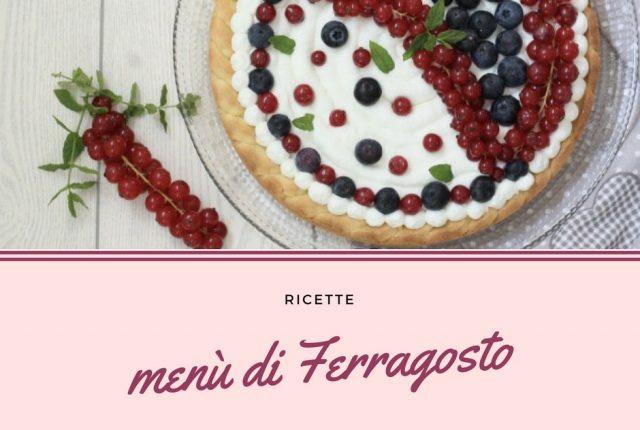 Ricette menù di Ferragosto