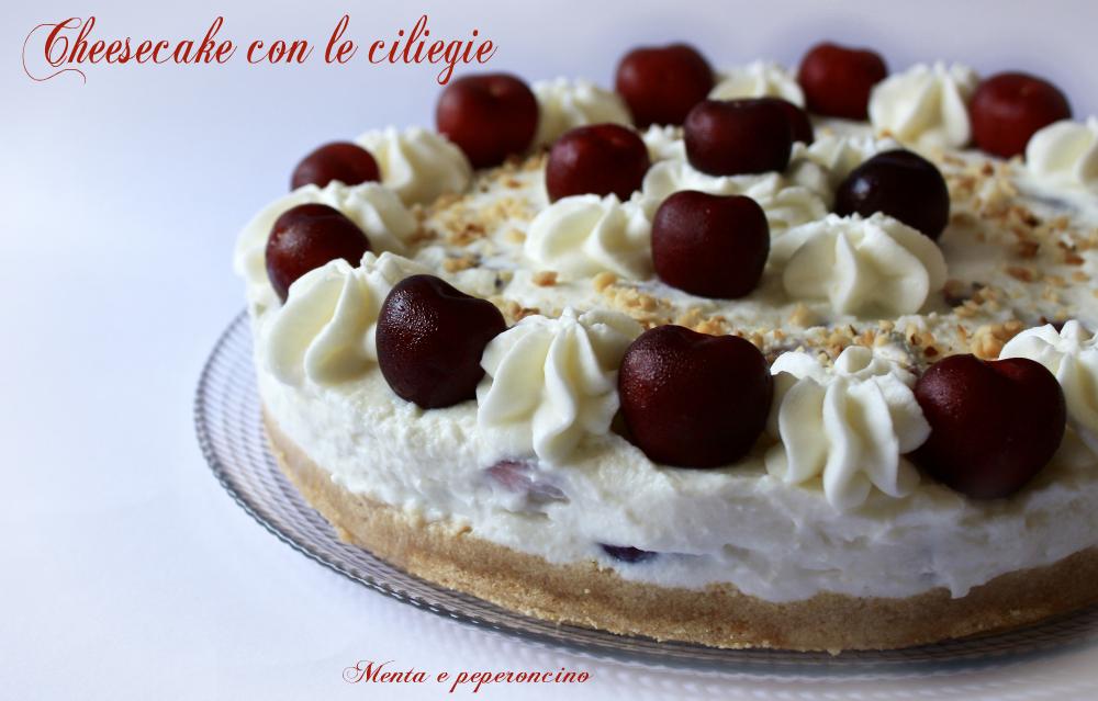 Cheesecake con le ciliegie