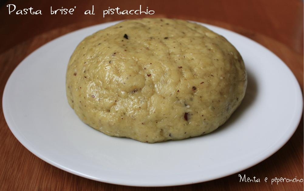 Pasta brise' al pistacchio