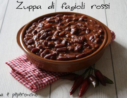 Zuppa di fagioli rossi