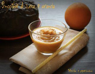 Smoothie di zucca e arancia