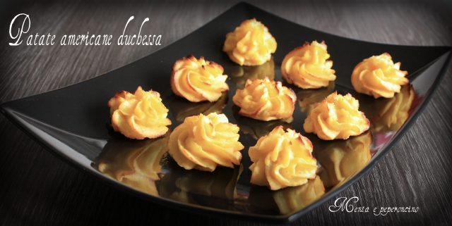 Patate americane duchessa