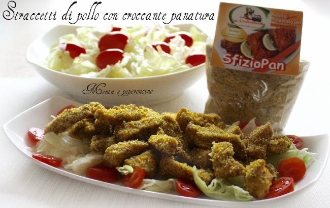 Straccetti di pollo con croccante panatura