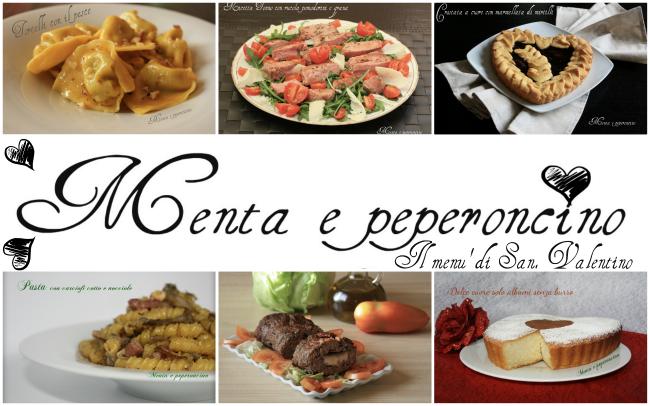 Il menù di San. Valentino
