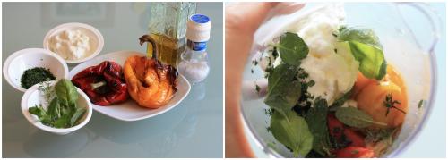 Crema di peperoni e yogurt greco salsa condimento leggero for Cucinare yogurt greco