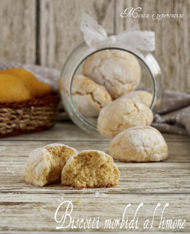 Biscotti Morbidi Al Limone Ricetta Facile Ricetta Dolce