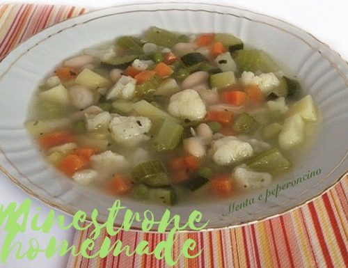 Minestrone homemade