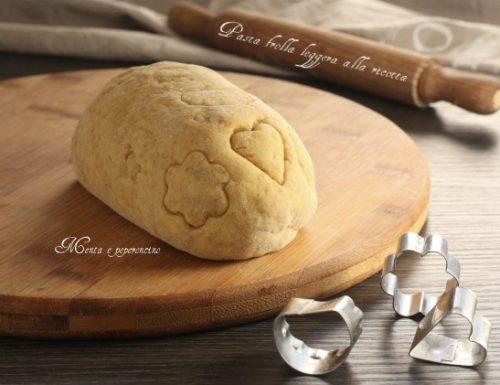 Pasta frolla leggera alla ricotta