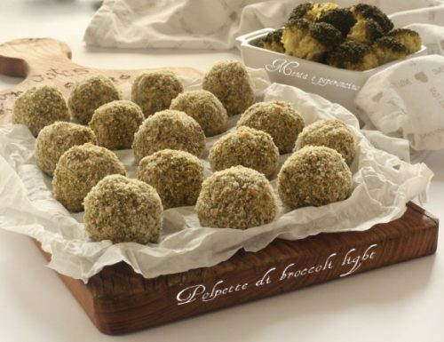 Polpette di broccoli light