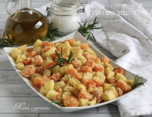 Patate e carote sabbiose con farina di mais
