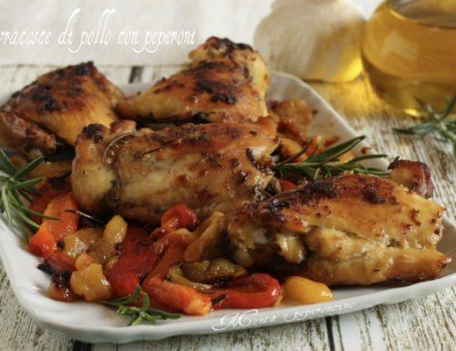 Sovracosce di pollo con peperoni