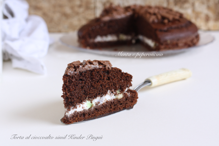 Torta al cioccolato simil Kinder Pinguì