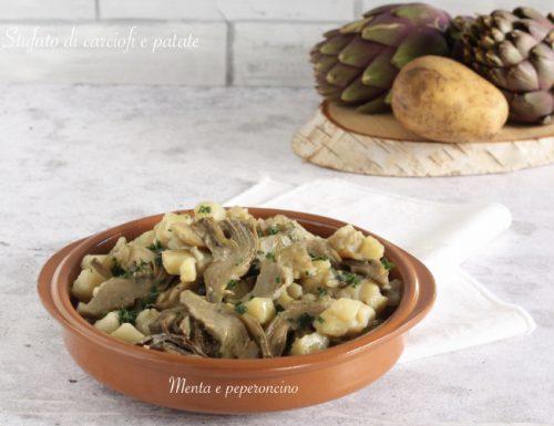 Stufato di carciofi e patate