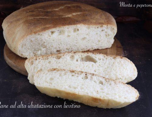 Pane ad alta idratazione con lievitino