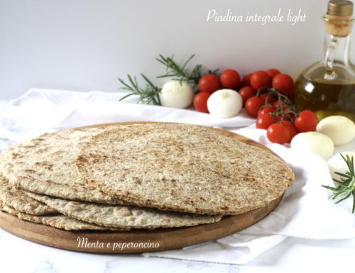 Piadina integrale light