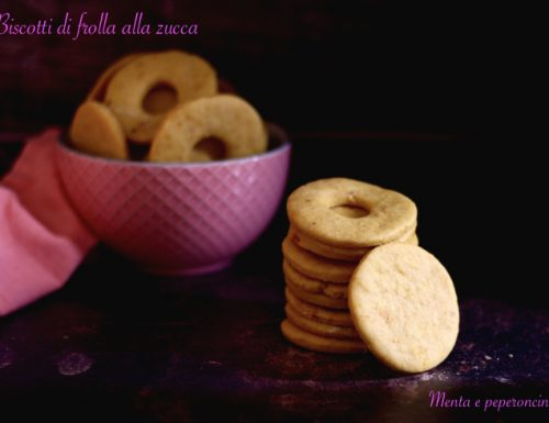 Biscotti di frolla alla zucca