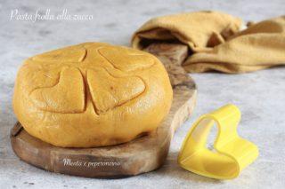 Pasta frolla alla zucca