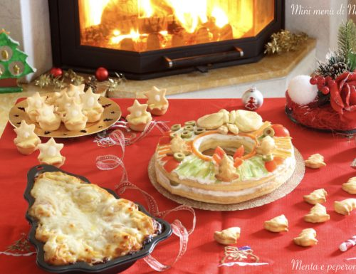 Mini menù di Natale