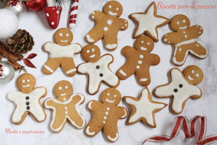 Biscotti pandi zenzero