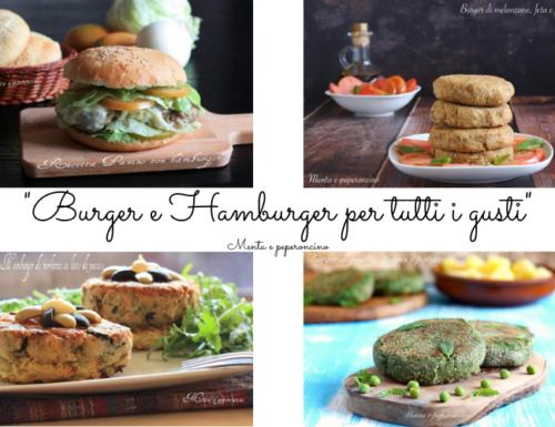 Burger e Hamburger per tutti i gusti